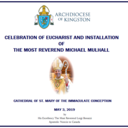Installation of Most Rev. Michael Mulhall- May 3, 2019 (Paul Hibbard) photo album thumbnail 1