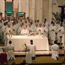 Mass of Chrism/Thanksgiving for Archbishop O'Brien's ministry (Paul Hibbard) photo album thumbnail 32