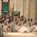 Mass of Chrism/Thanksgiving for Archbishop O'Brien's ministry (Paul Hibbard) photo album thumbnail 34